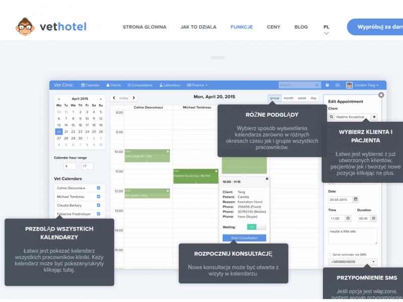 Oprogramowanie dla weterynarzy VetHotel - 10 powodów, by skorzystać z oprogramowania dla weterynarzy